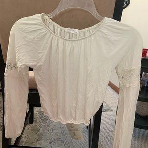 Full Tilt/off the shoulder white blouse